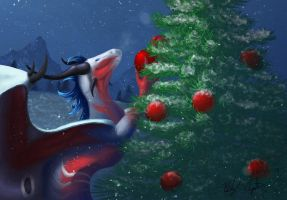Christmas Morning by AlpariArt