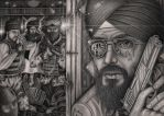 'Super Sikh Limited Edition' comic book cover by Pen-Tacular-Artist