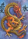 Chinese Dragon Love Eternal by Legrandzilla