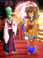 Happy New Years:  Japan? by SkooIsCoo