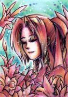 Aeris Sketchcard by HanieMohd