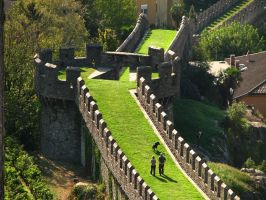 Castle Walls - Bellinzona by Gianni36