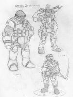 Sector 6 Veteran Mercs by eightball6219