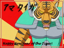"Year of the ""Armour"" Tiger by halcyonWW"