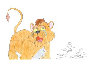 Leo the Lion: King of the Jungle - Tooey by MortenEng21