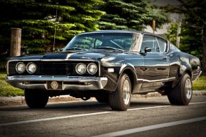 Mercury Cyclone GT 1968 3/4 view by RockRiderZ