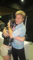 Vic Mignogna and me by BCXtripleI