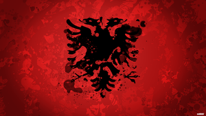 Albanian flag by AY-Deezy