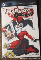 Harley Quinn cover by MaryBellamy