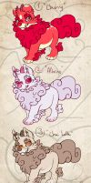 Puppy Foo Dog adoptables 4 -CLOSED- by Seffiron