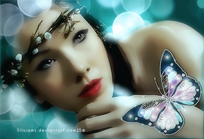 Ruth and the Butterfly by SilviaMS