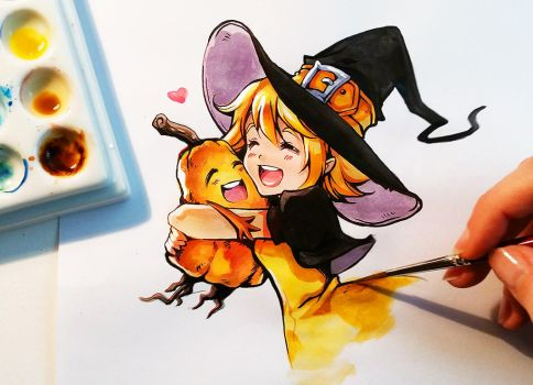 Pumkin Love by Naschi