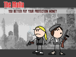 The Mafia wallpaper by PsiMonkey