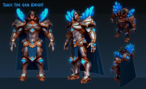 Taric the Gem Knight WIP 02 by Fch3ck