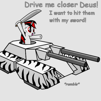 Fun with swords and tanks by slowlearner46
