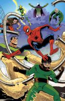 Spider-Man vs. Sinister Six by Tloessy