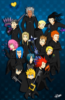 Organization XIII by Thata-chann