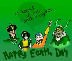 Happy EARTH day by ConfusionMuffin