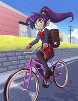 Shantae: All Schoolgirl Hero by taneel