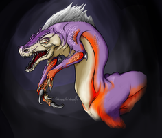 CreepyMonsterHunter-Dosu Jagii by DarkmaneTheWerewolf