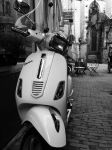 Vespa Scooter Amsterdam by endofwar