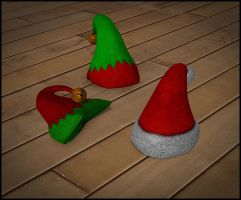 Christmas Hats by deexie
