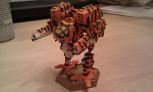 Madcat MK2 Tigerstripes by Azuvector