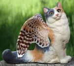 PYO Winged Cat 'Puff' by Yeral