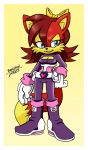 Fiona in Rouge's Sonic Heroes outfit by NextGenProject