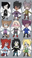 Chibi Kemonomimi Adopts [OPEN] by DeerlyDame
