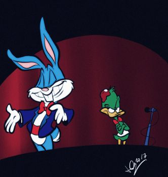 It's Buster Bunny time! by JuneDuck21