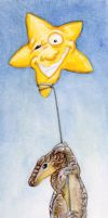 The Slightly Twitchy Star by ursulav