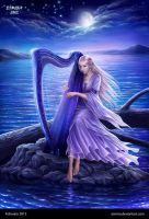 Midnight Harp by Esmira