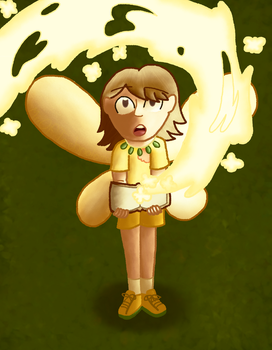 Sunny/Saffron the Yellow Fairy by MiiOfTechnology