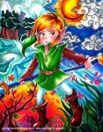 Oracle of Seasons Link by progressinprogress