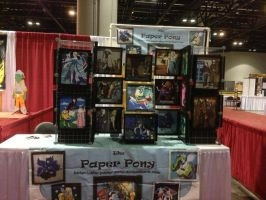 Our 2014 Megacon Booth 2 by The-Paper-Pony