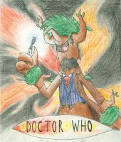 David Trevenant as the Tenth Doctor by CaliforniaHunt24