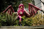 Pink Rathian Gijinka Cosplay by Sea of Rabbitz by seaofrabbitz