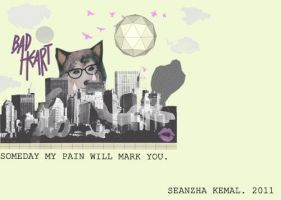 Someday My Pain Will Mark You by seanzhakemalrachman