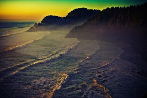 Oregon Coast III by lepersabstain