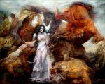 Beauty and the beasts by Flockhart