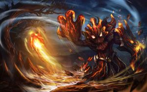 Maokai for LOL by dawnpu