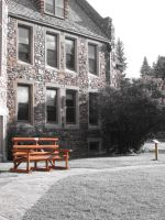 The Lone Bench by allyalltheway