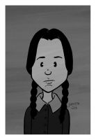 Wednesday Addams Portrait by JesseAcosta
