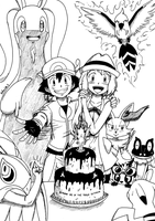 Serena's Birthday by Rohanite