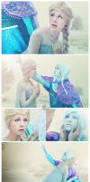 Frozen comic Anna Elsa by LauzLanille