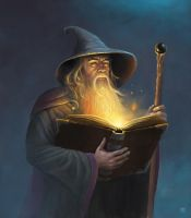 Wizard by adam-brown