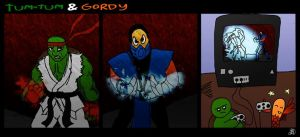 Tum-Tum and Gordy - Video game by DarkIcePrincess