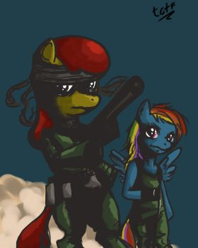 Pony Gear Solid 2 by Raph13th