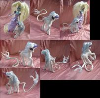 The Last Unicorn Lady Amalthea EQG and g4 Princess by LightningSilver-Mana